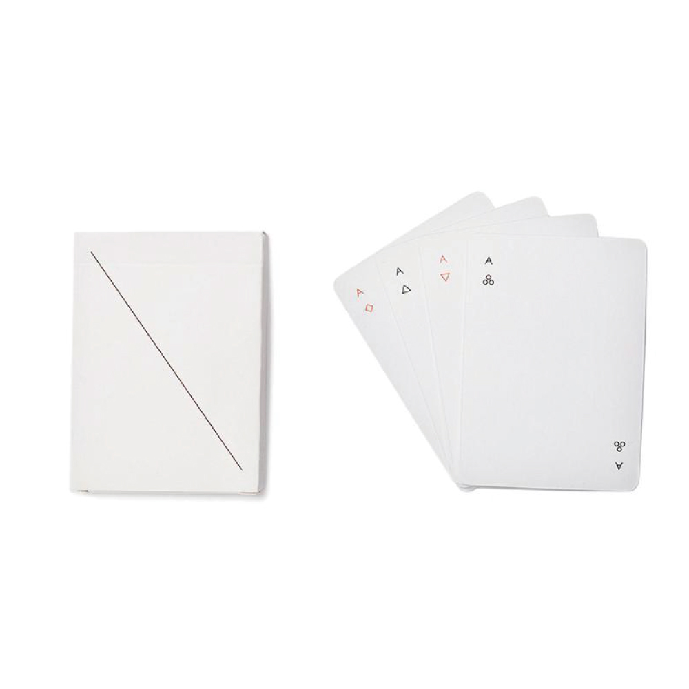 AREAWARE|Minim極簡主義撲克牌 - 尊爵黑/純淨白(2色可選)