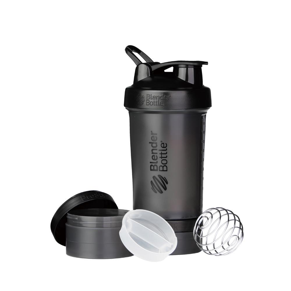 Blender Bottle|《ProStak系列》多層分裝可拆式運動搖搖杯(宇宙黑)