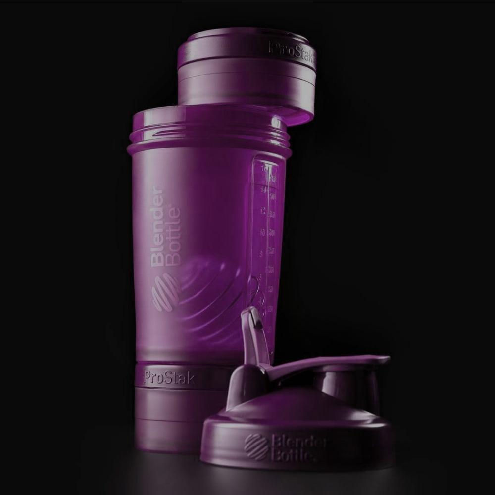 Blender Bottle 《ProStak系列》多層分裝可拆式運動搖搖杯(迷幻紫)
