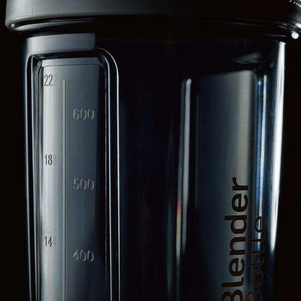 Blender Bottle|《Pro28系列》高透視機能搖搖杯-驚奇隊長(橘)