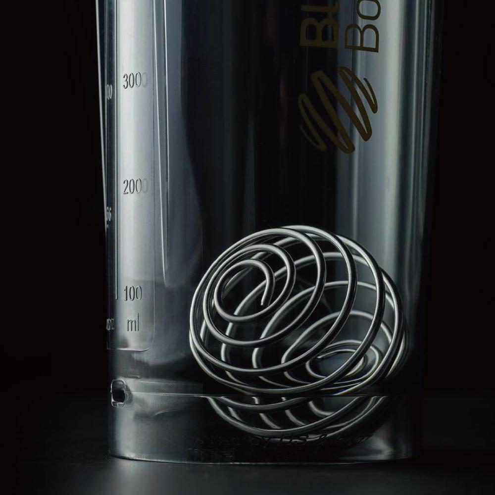 Blender Bottle|《Pro28系列》高透視機能搖搖杯-美國隊長(藍)