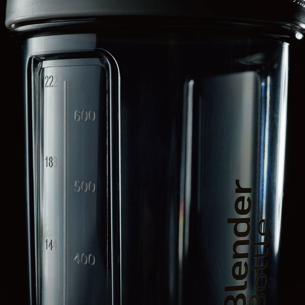 Blender Bottle|《Pro28系列》高透視機能搖搖杯-蝙蝠俠(灰)