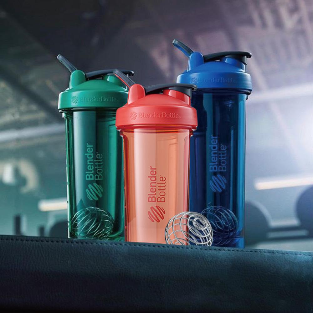 Blender Bottle|《Pro32系列》高透視機能搖搖杯-美國隊長(藍)