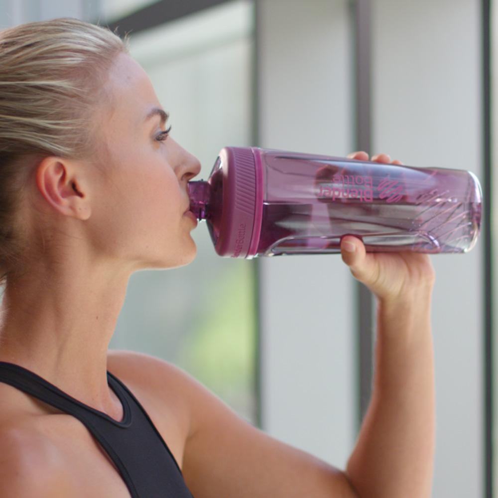 Blender Bottle|《Radian系列》32oz旋蓋直飲運動搖搖杯-紫