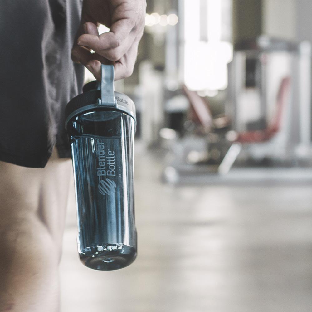 Blender Bottle|《Radian系列》32oz旋蓋直飲運動搖搖杯-橘