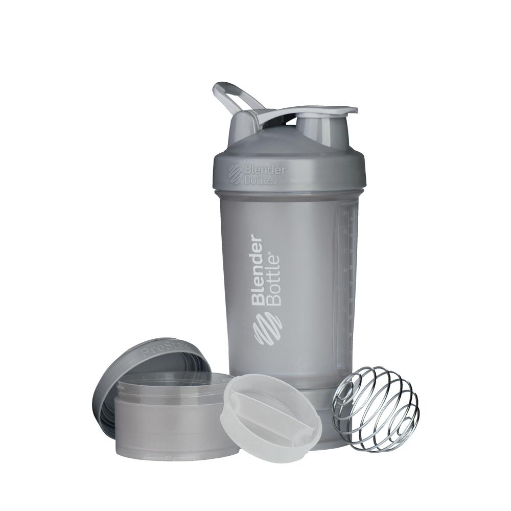 Blender Bottle|《ProStak系列》多層分裝可拆式運動搖搖杯(灰)