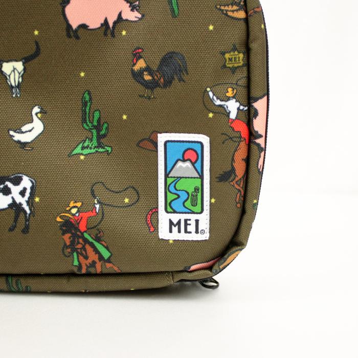 MEI|印花圖騰小包 卡其