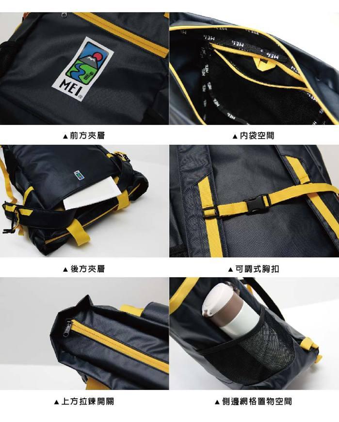 (複製)MEI 背包托特兩用雙面包 黑