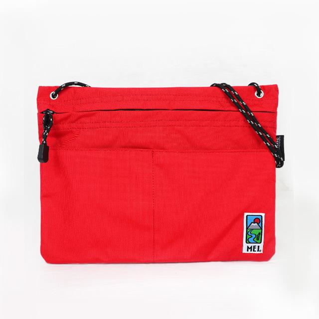 MEI|方型隨身包 紅