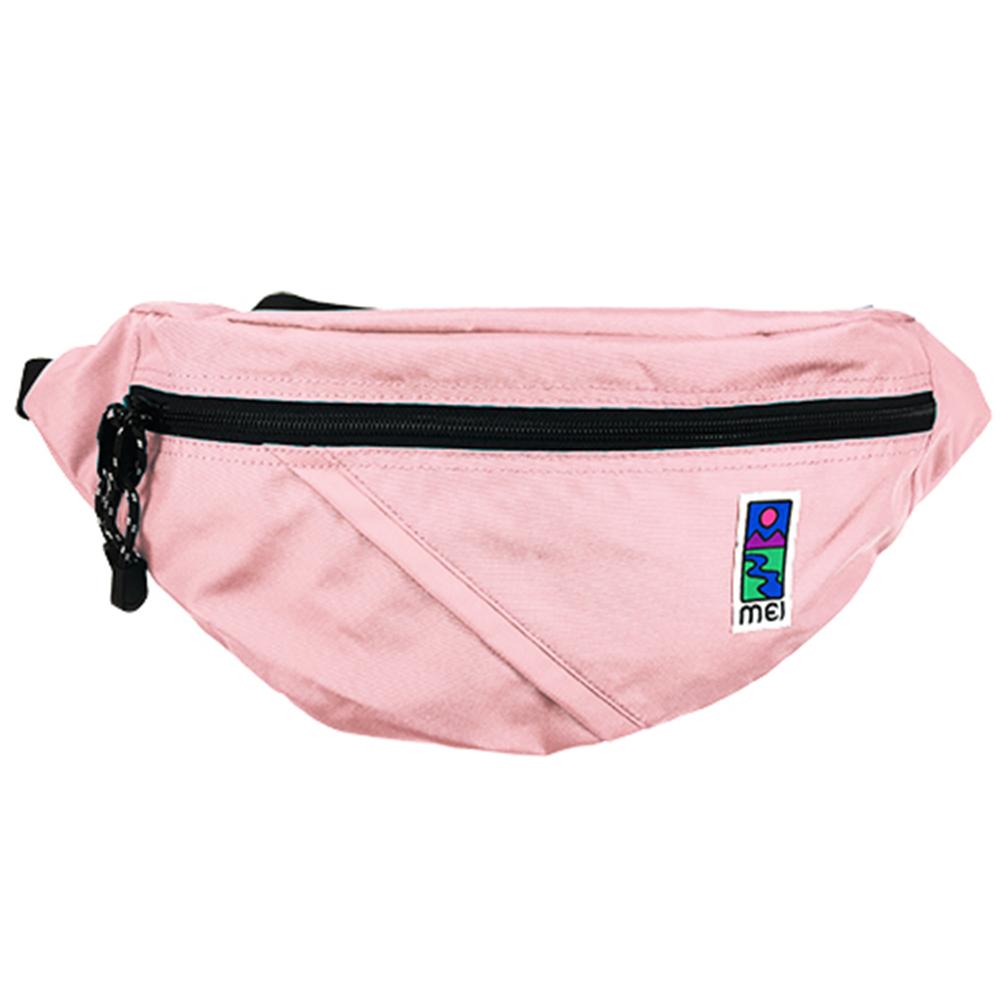 MEI|兩用胸包 淺粉紅