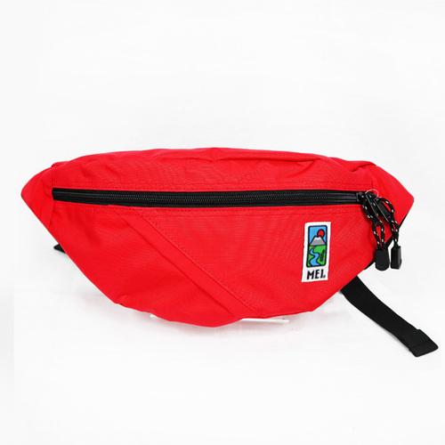 MEI|兩用胸包 紅