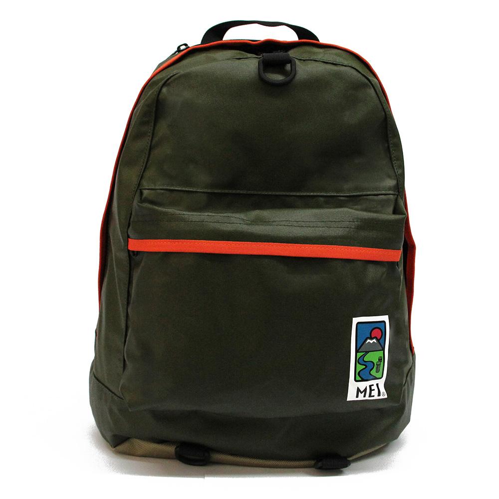 MEI|通勤背包 橄欖綠