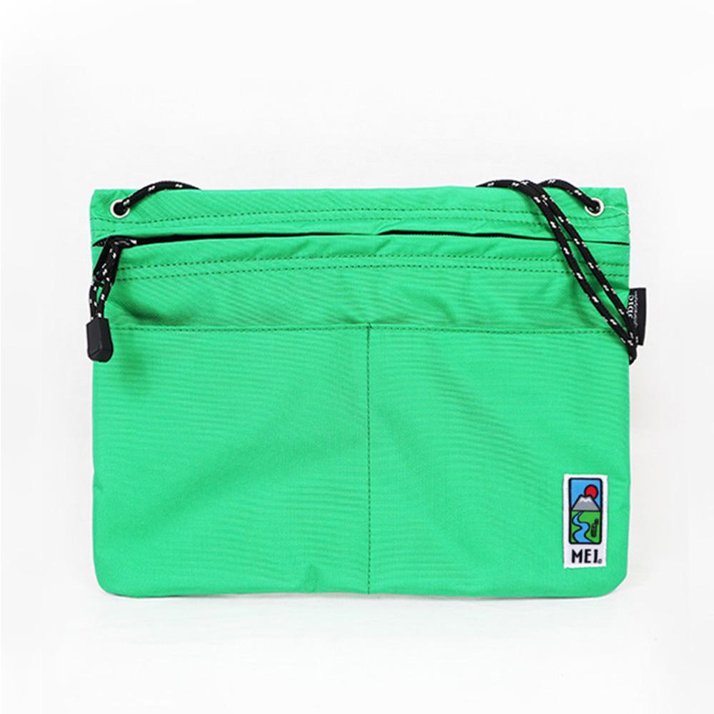MEI|方型隨身包 綠