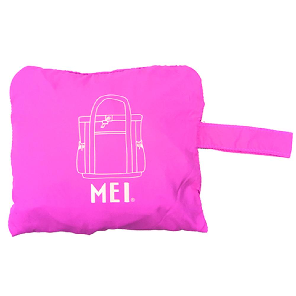 MEI|收納摺合肩包 粉紅