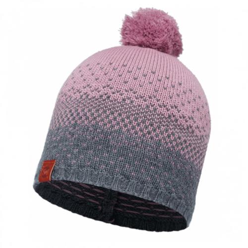Buff|針織保暖毛球帽 漸層紅 MAWI LILAC SHADOW