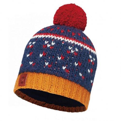 Buff|針織Polar保暖毛球帽 快樂藍 ETHEL