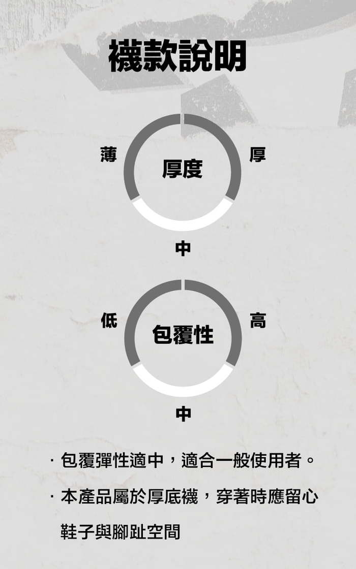 titan 太肯|舒壓生活中筒襪 軍綠(4雙)