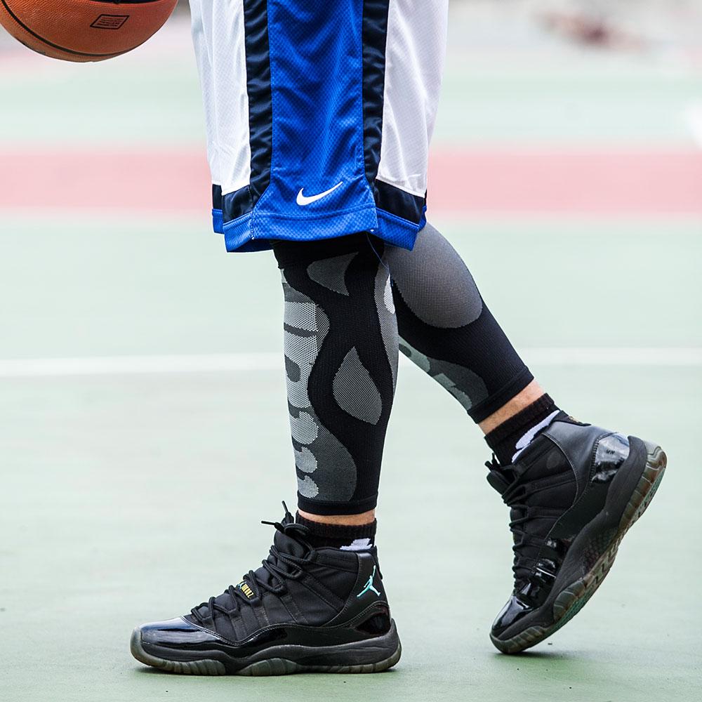 titan太肯|壓力小腿套-黑色