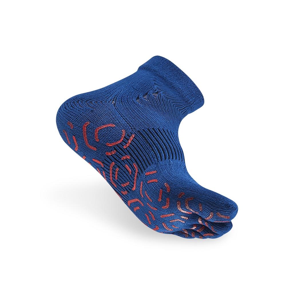titan太肯|五趾功能訓練襪-藍(2入)
