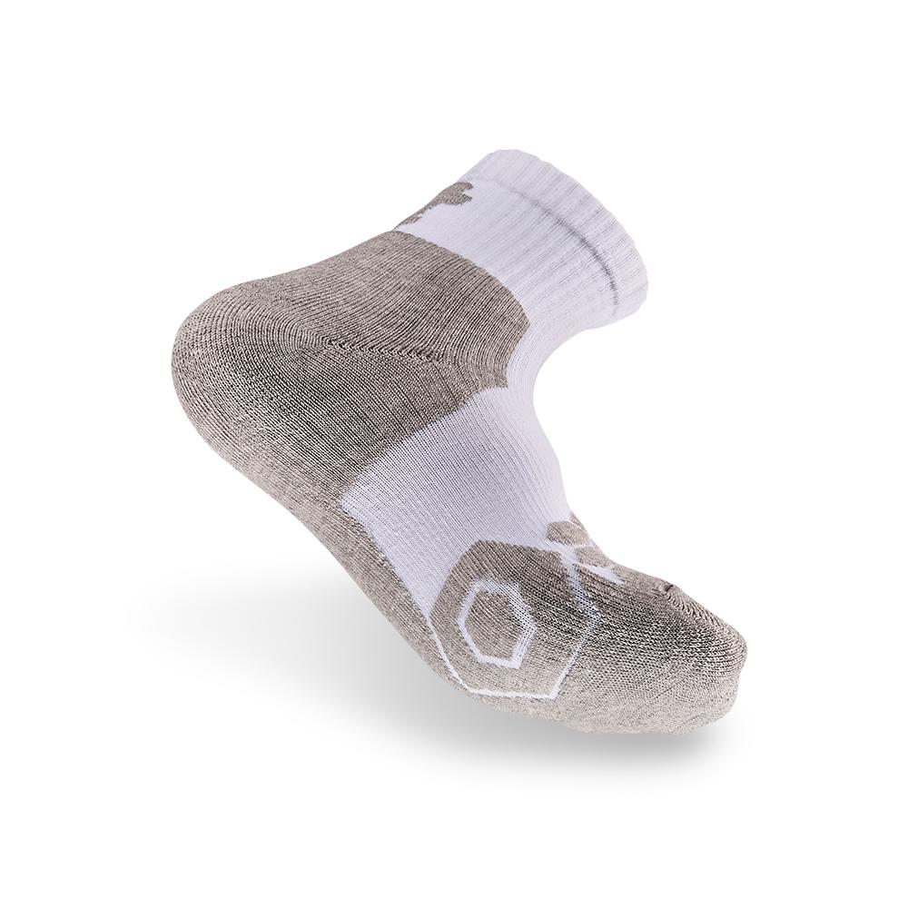 titan太肯|專業籃球襪-白/灰(3入)