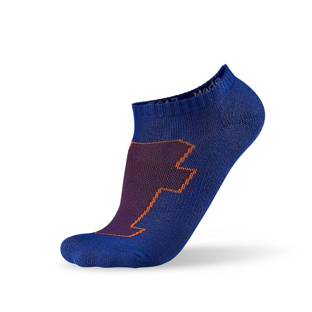 titan太肯 生活運動襪-藍綠黑組合(4入)