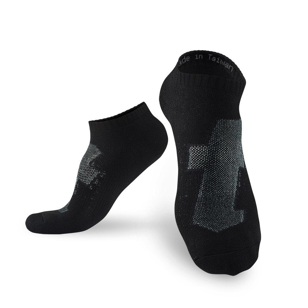 titan 太肯|生活運動襪 黑白組合(5雙)