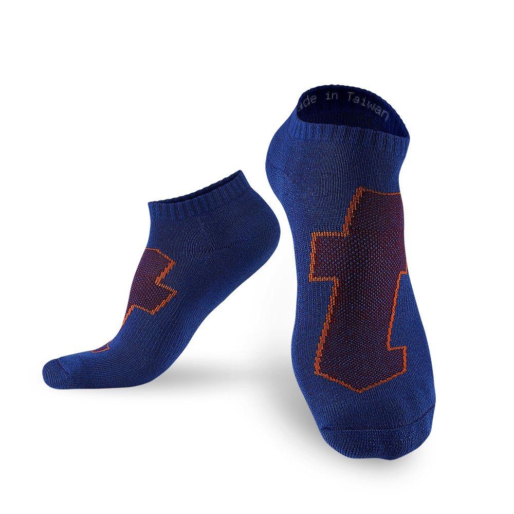 titan 太肯|生活運動襪 藍(4雙)