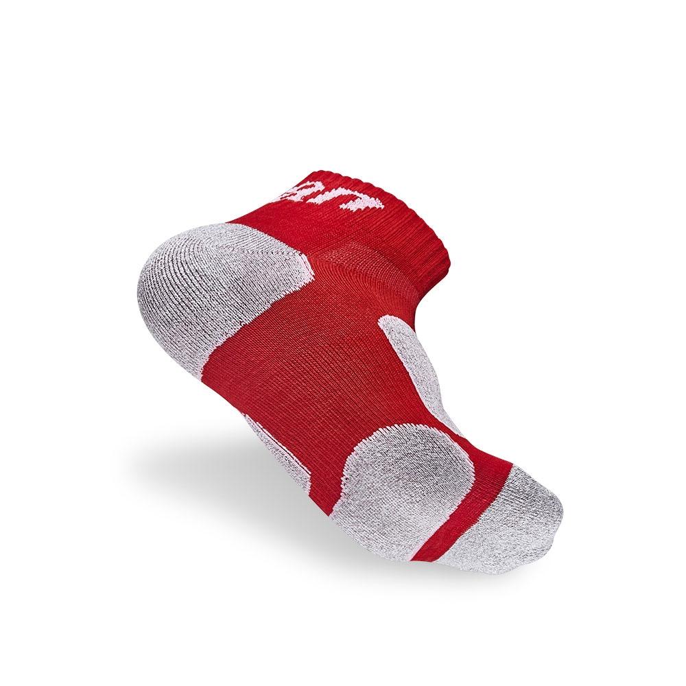 titan太肯| 功能慢跑訓練短襪-紅竹炭(3入)