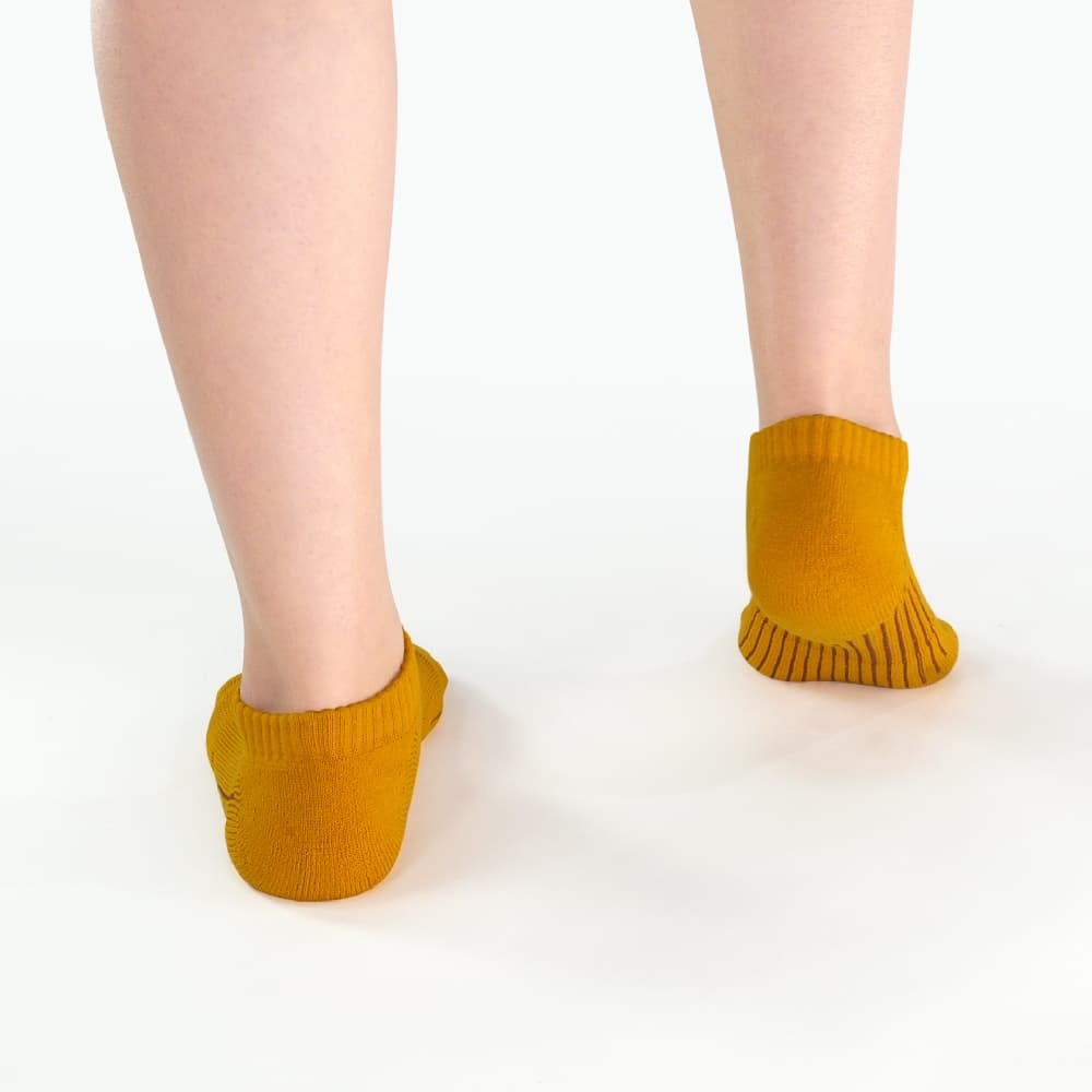 titan 太肯|舒壓生活踝襪 土黃(5雙)