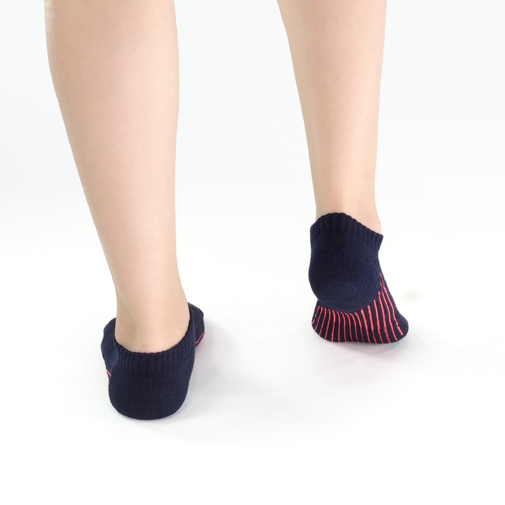titan 太肯 舒壓生活踝襪 深藍(5雙)