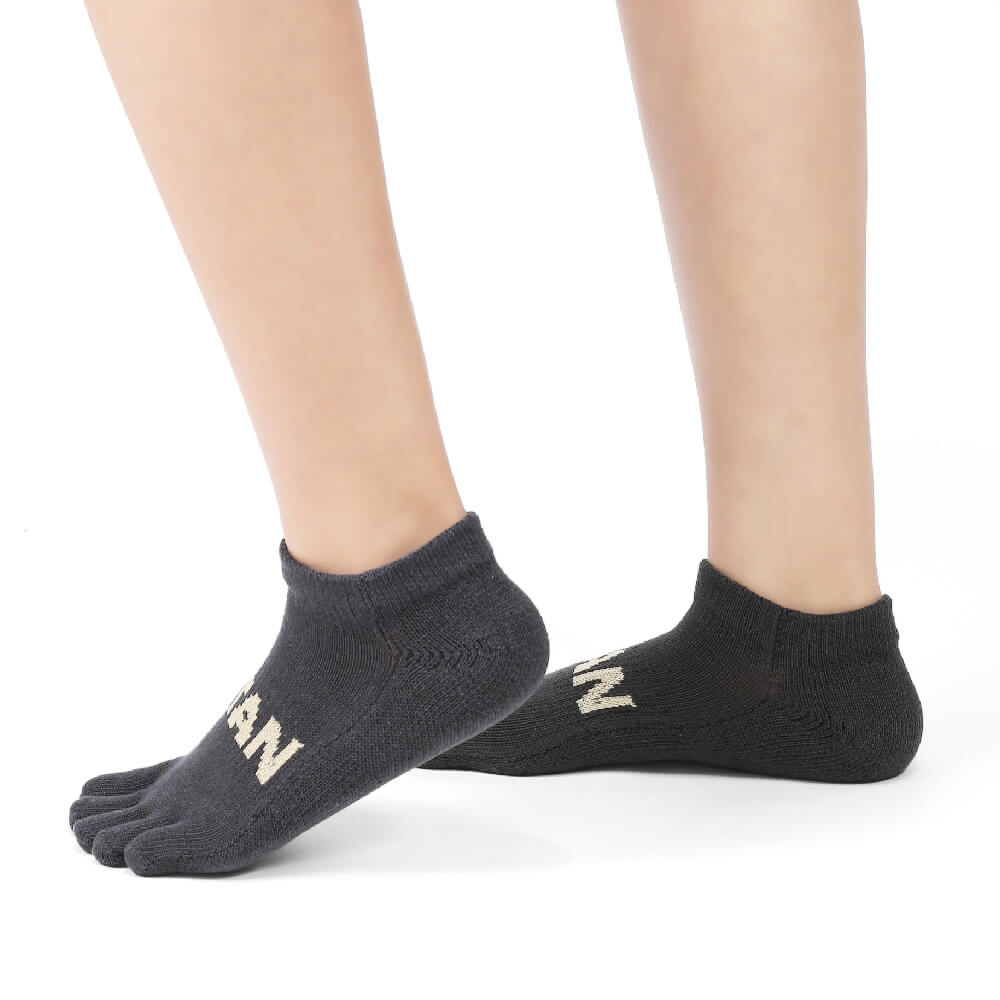 titan 太肯|五趾舒壓生活踝襪 深灰(3雙)