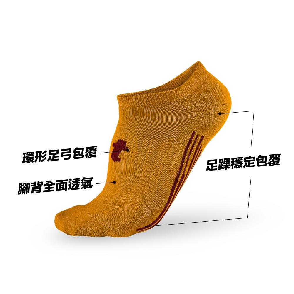 titan 太肯|輕薄生活踝襪 土黃(5雙)