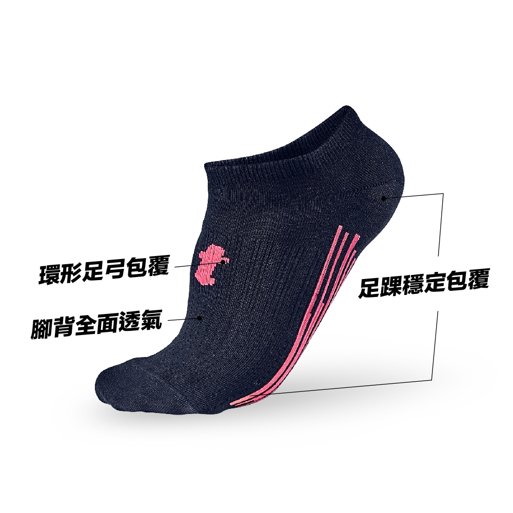 titan 太肯|輕薄生活踝襪 藍(5雙)