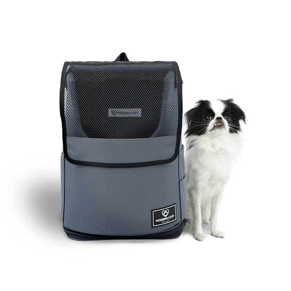 ModernCary 寵物旅行家|寵物外出背包(深灰)