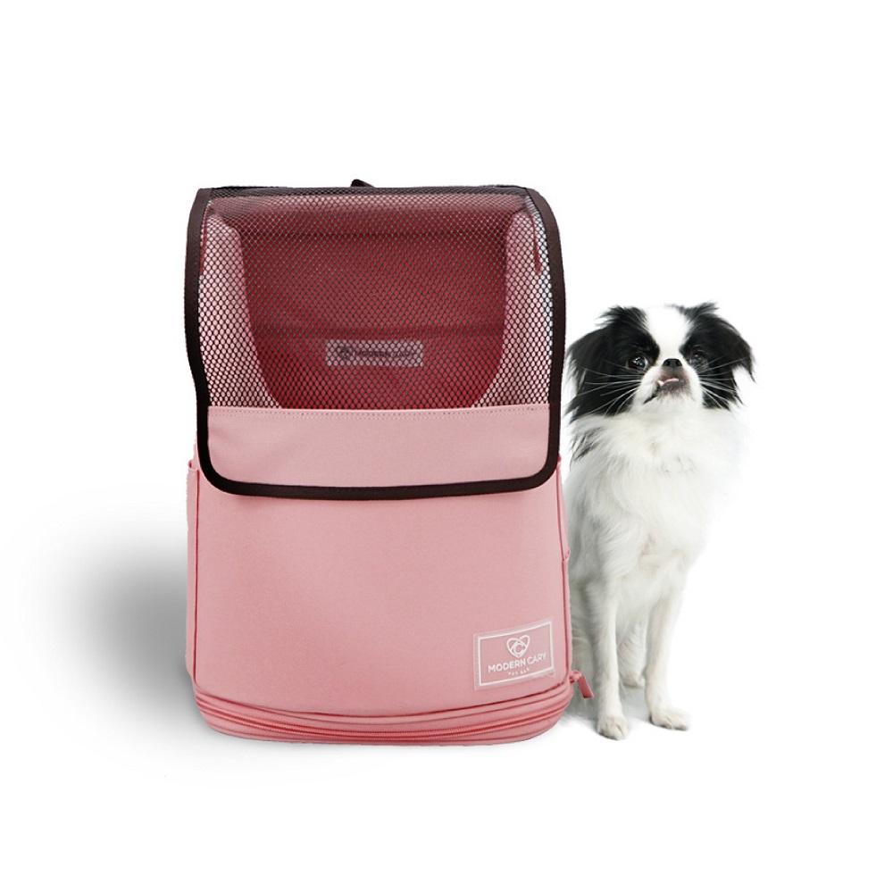 ModernCary 寵物旅行家 寵物外出背包(粉紅)