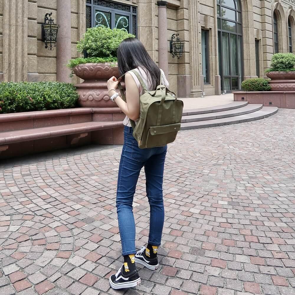 Daily mate|標準型後背包(軍綠)