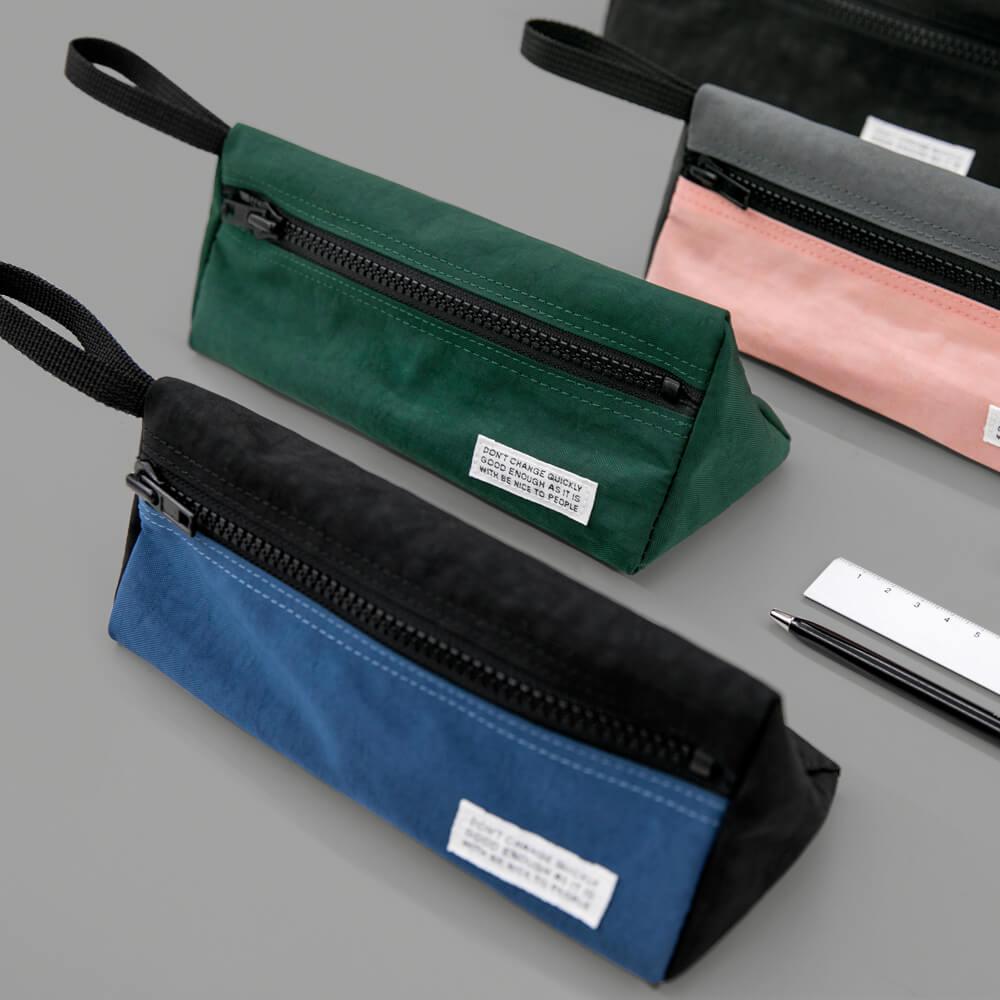 BNTP | 復古水洗尼龍三角筆袋