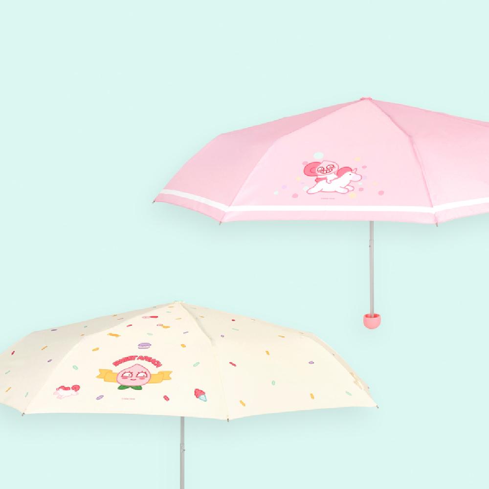 Kakao Friends APEACH獨角獸摺疊傘 PINK-A