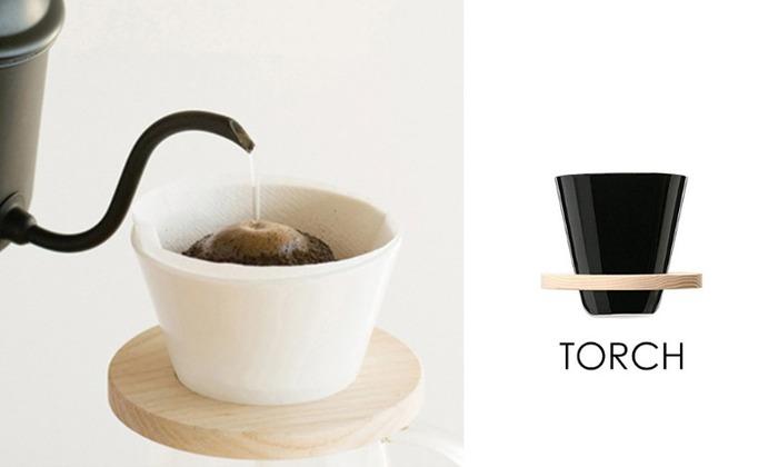 TORCH | 甜甜圈濾杯 黑色
