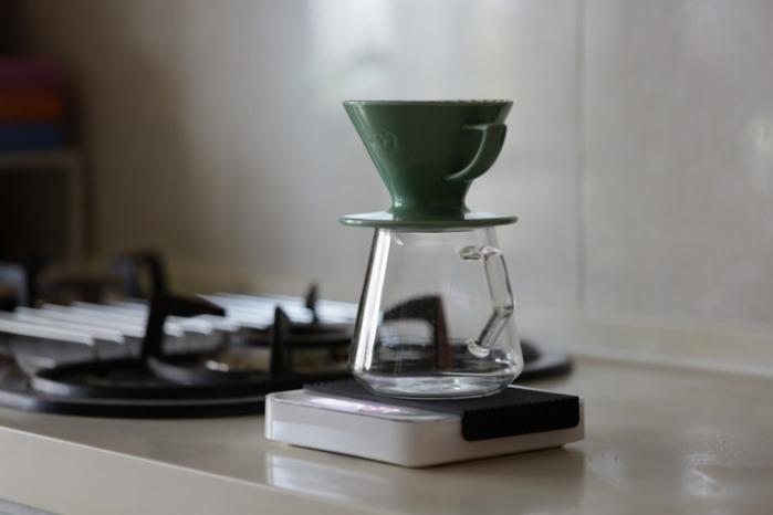 KADOU咖堂|星芒濾杯「極」M1陶瓷濾杯藍色