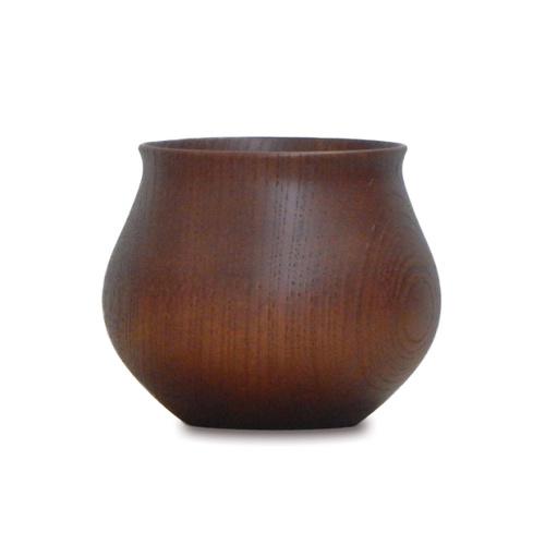安清式|木器杯 咖啡色
