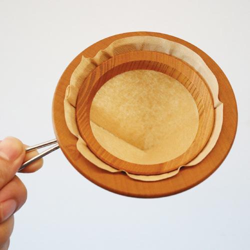 安清式   紙落 濾紙環
