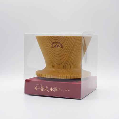 安清式 木製濾杯 原木色