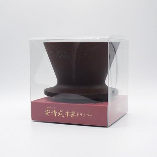 安清式 | 木製濾杯 咖啡色
