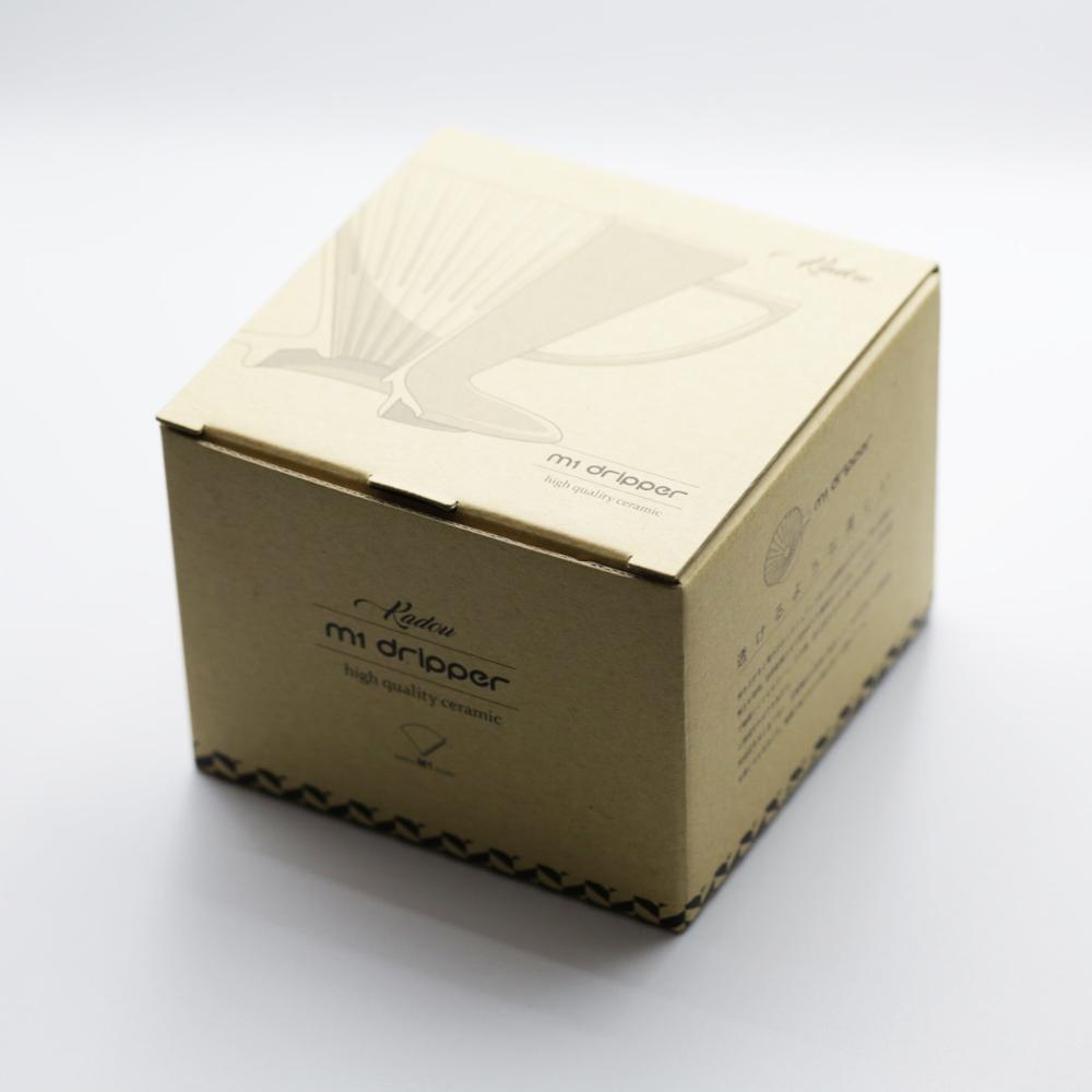 KADOU咖堂|星芒濾杯「極」M1陶瓷濾杯白色
