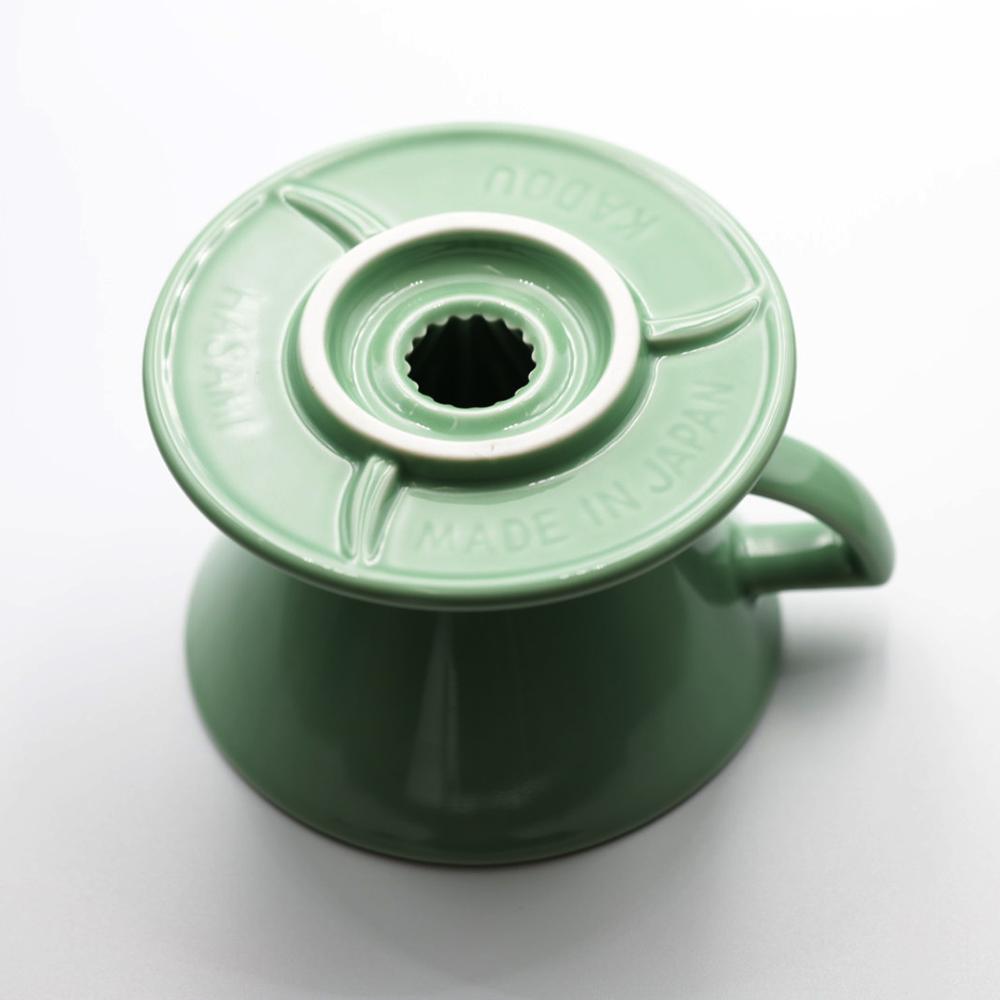 KADOU咖堂|星芒濾杯「極」M1陶瓷濾杯綠色