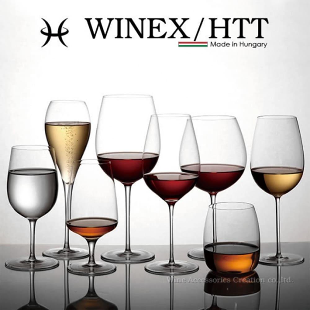 WINEX/HTT 蘇菲亞香檳手工酒杯
