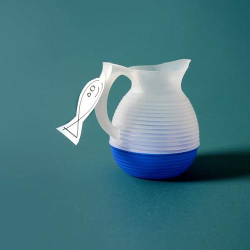 La Carafe|法式美學典藏水壺 Vintage 系列- 1300ml (海軍藍)