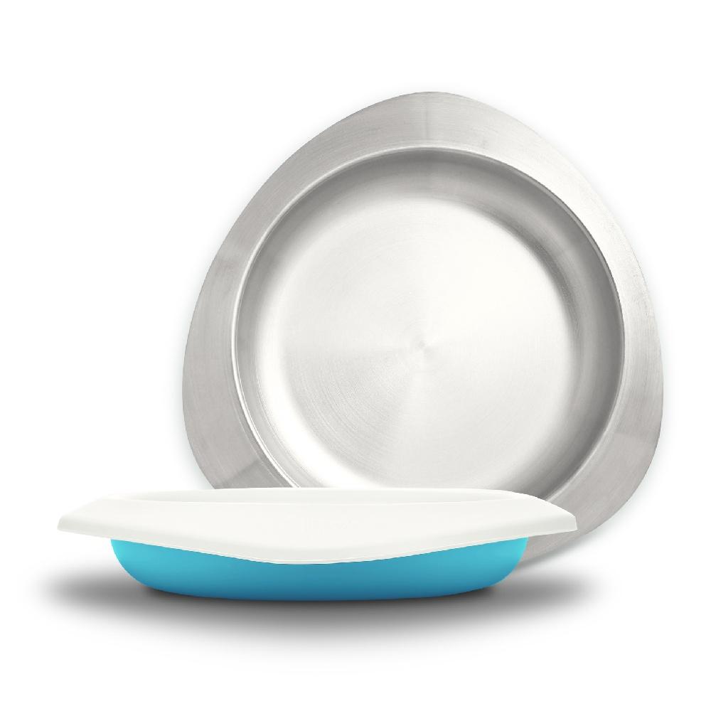 VIIDA|Soufflé 抗菌不鏽鋼餐盤