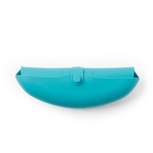 VIIDA|Joy 便攜式矽膠圍兜(療癒系) - 天空藍